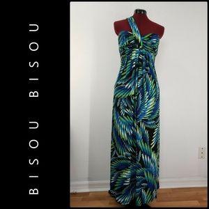 Bisou Bisou Woman Maxi Long Dress Size 4